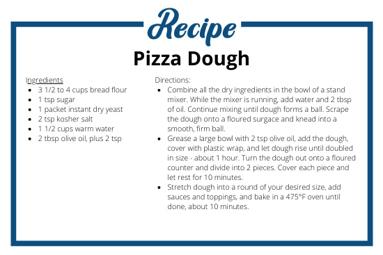 Pizza Dough Recipe