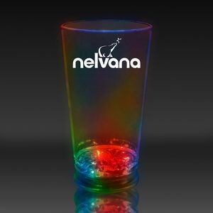 16 Oz. Multi-Color Light-Up Pint Glass